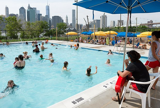 The Pop-Up pool opens in June.