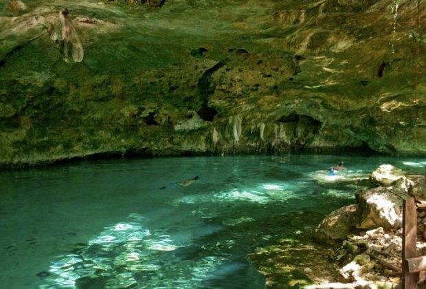 The Cenote Dos Ojos. Amazing.