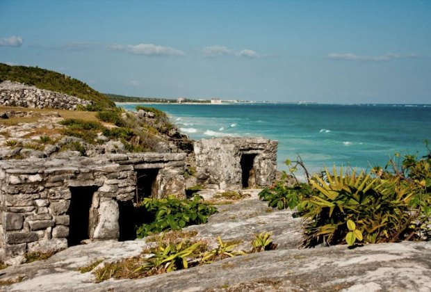 The ruins at Tulum.
