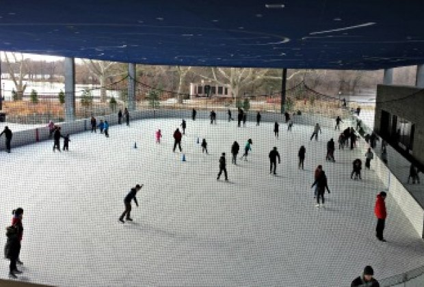 Ice-skating with a view: Lakeside overlooks Prospect Park's picturesque Lake