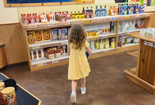 Pretend City Children's Museum in OC: Everyone loves Trader Joe's