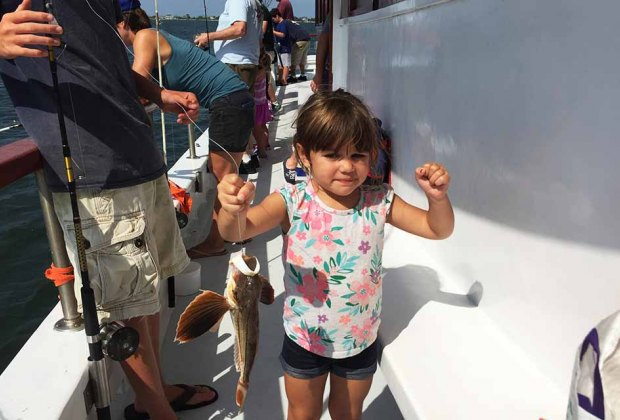 Fishing On Long Island Where Kids And Families Can Drop A