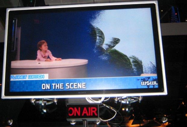 Hosting a TV segment