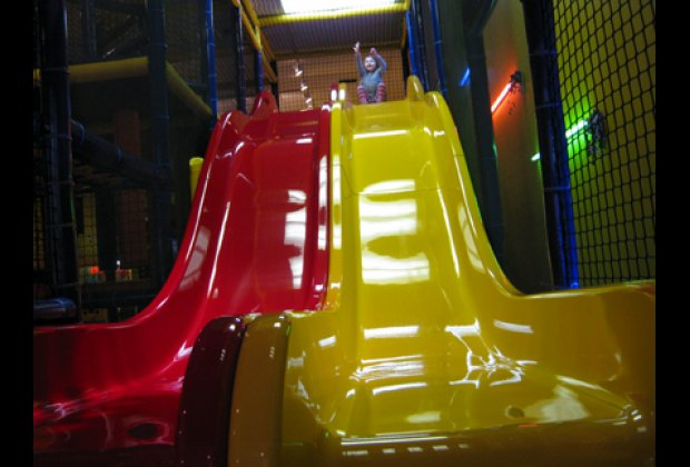 Double slides so friends can go together