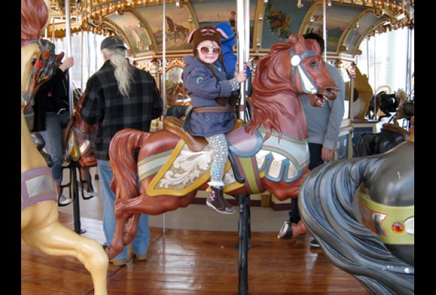 Enjoying Jane's Carousel