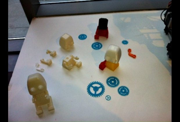 Knickknacks created via 3D printer