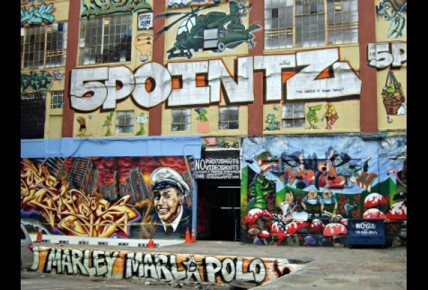 The famous 5 Pointz mural