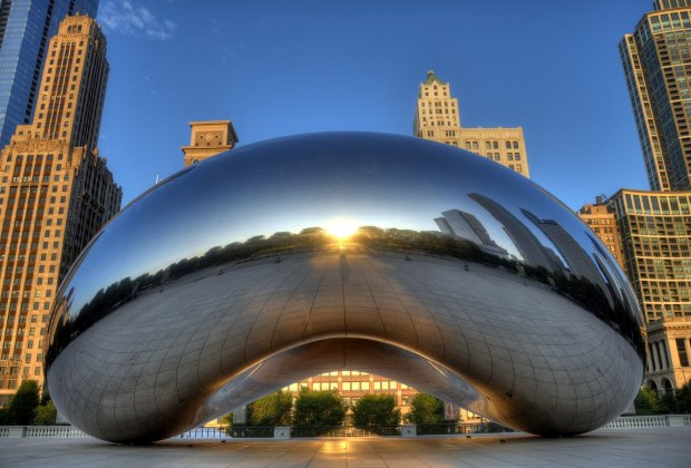 Things To Do with Chicago Kids Over Spring Break: Photo ops under the Cloud Gate