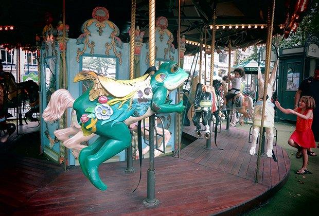 Le Carrousel in Bryant Park