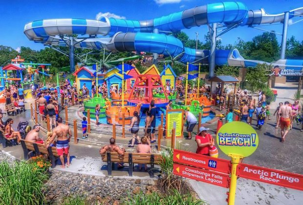 Best Water Theme Parks Near NYC for Families | MommyPoppins