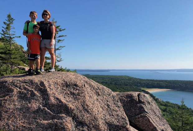 Scenic hikes lead to breathtaking coastal views in Acadia National Park. Photo courtesy of Roy Luck/CC by 2.0