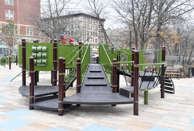 Adventure Playground at Highbridge Park
