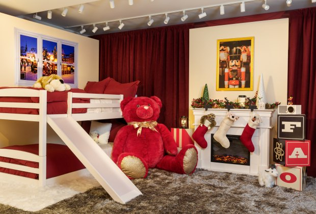 bunk beds with slide FAO Schwarz, Airbnb Offer Toy Store For Magical One-Night-Only Stay