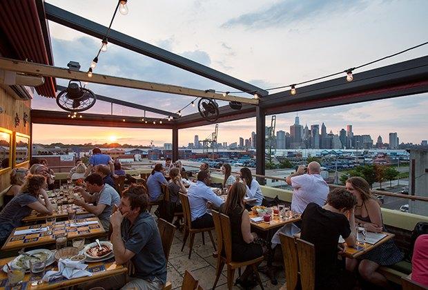 Brooklyn outdoor eats restaurants with kid friendly for Alma terrace york
