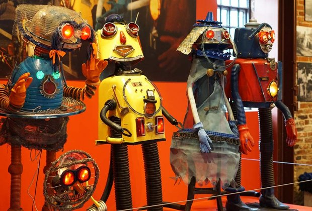 American Visionary Art Museum artworks  Inexpensive Winter Weekend Getaways for NYC-Area Families