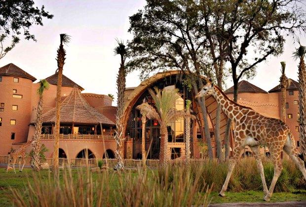 A stay at Orlando's Animal Kingdom Lodge is a special treat. Photo courtesy of Walt Disney World Resort Hotels