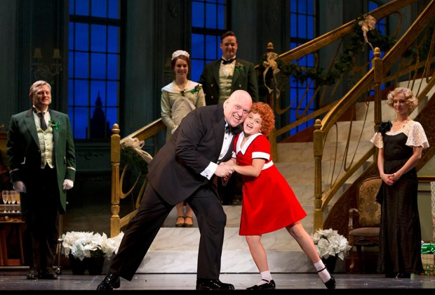 The timeless musical Annie comes to the Count Basie Theatre. Photo courtesy of the production