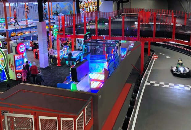Is New England's Biggest Family Entertainment Center the
