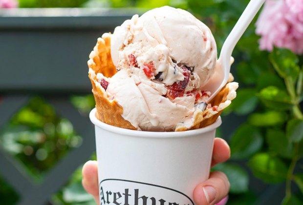 Ice cream from Arethusa Farm Dairy