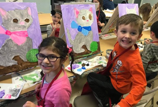 Painting And Art Studios That Host Kids Birthday Parties In Nj Mommypoppins Things To Do In New Jersey With Kids