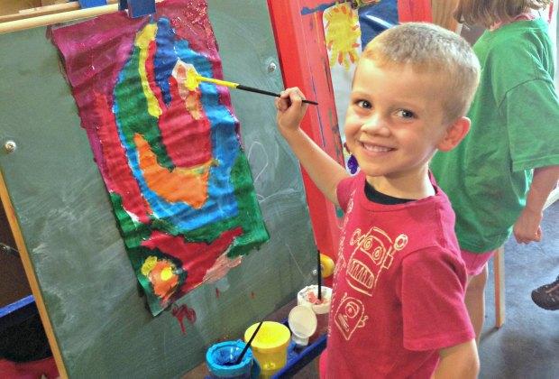 Summer camp at Art Barn