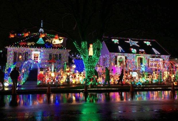 Holiday Lights and Decor Around Boston