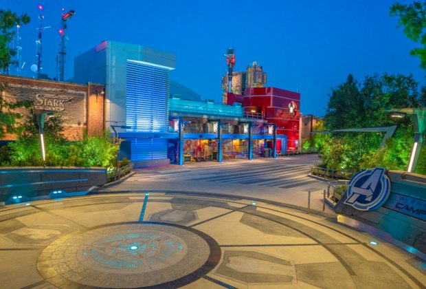 The all new Avengers Campus at Disneyland.