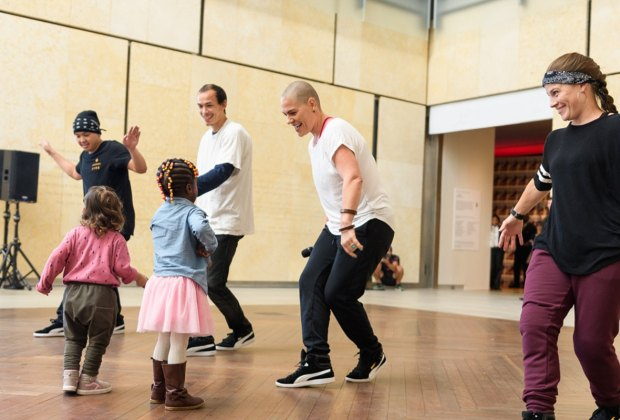 New Toddler Time Kicks off at the Barnes Foundation. Photo courtesy of the Barnes Foundation