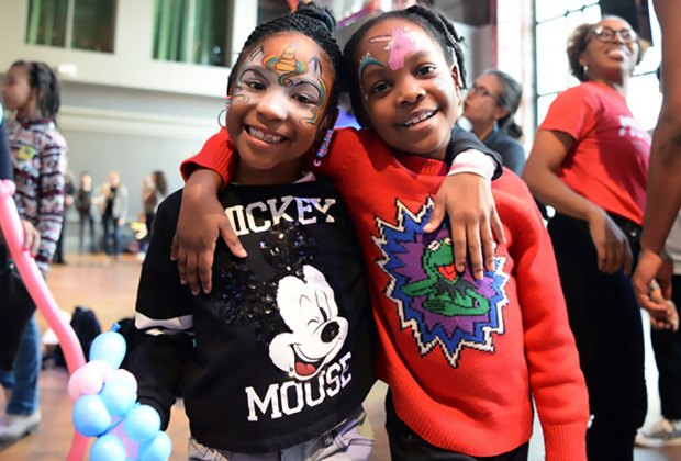 Enter a family-friendly carnival with performers, interactive games, 360° films, and live performances at the annual BAMkids Film Festival!  Photo courtesy of BAM