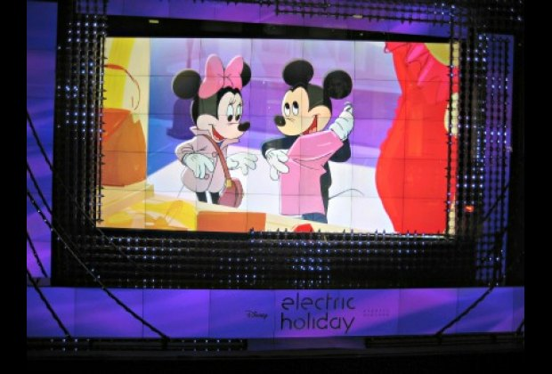 Minnie and Mickey Mouse star in a playful animated short at Barneys