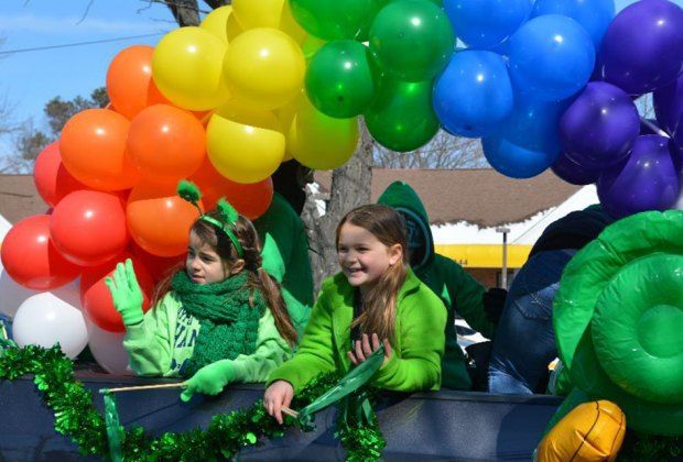 The communities of Bayport and Blue Point celebrate their Irish heritage with a joint parade. Photo courtesy of the Bayport-Blue Point Chamber of Commerce