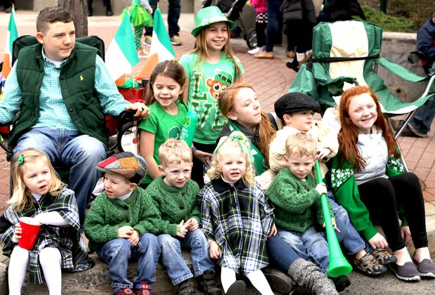 Get your green ready for Bergen County St. Patrick's Day Parade on Sunday, March 15. Photo courtesy of the All Aboard Meeting Group