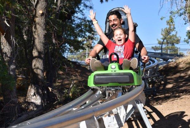 Best Things To Do with Kids in Lake Arrowhead: Alpine Slide Big Bear
