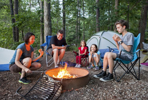 15 Best Campgrounds for Tent Camping with Kids Near LA