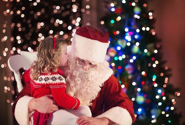 Christmas Season.Places To See Santa On Li During The Christmas Season