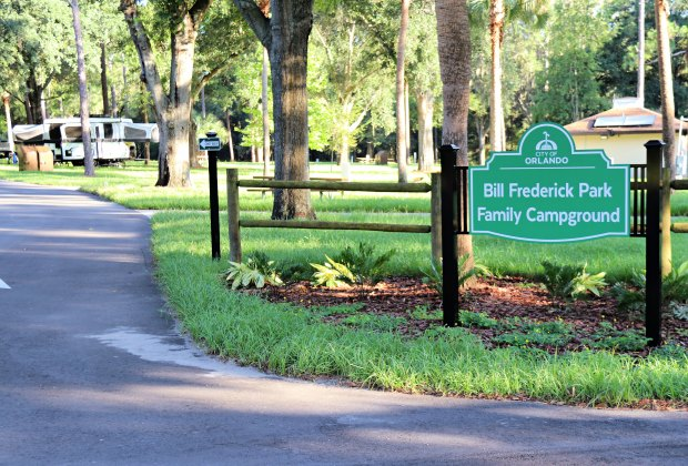 Bill Frederick Park at Turkey Lake.  City of Orlando