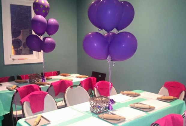 The Cute Set Up At Sugar Mama By Kims Bake Shop Party