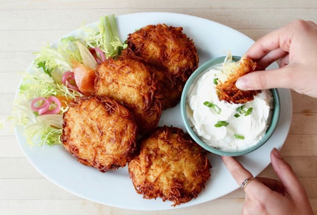 BKLYN Larder latkes for Hanukkah dinner
