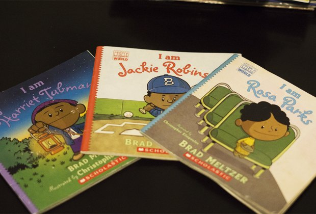 black history books for children rosa park jackie robinson harriet tubman