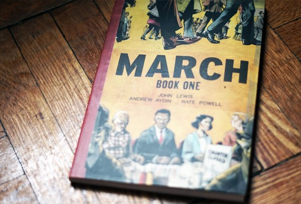 Black History Books for teens and young March Book One