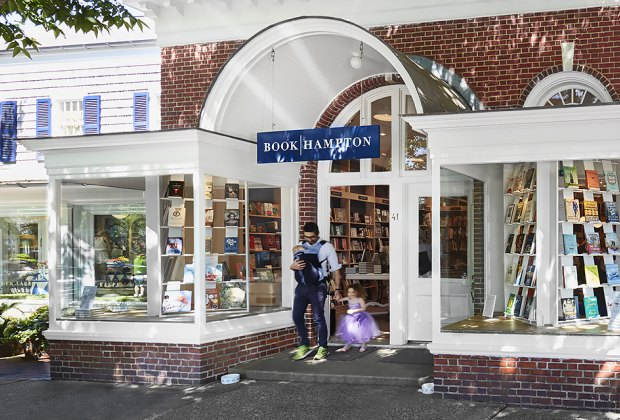 A family outing enjoyed by all at BookHampton in East Hampton. Photo courtesy of BookHampton