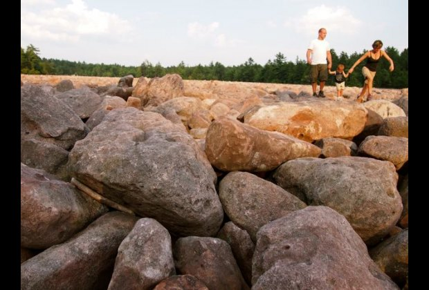 Boulder Field at Hickory Run State Park