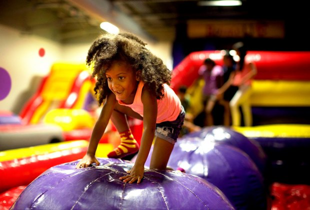 Stop by BounceU for an open play session.