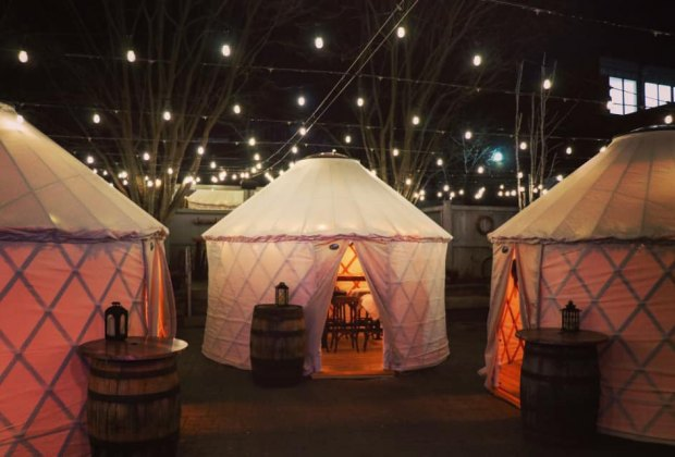 The Bowery Bar Yurt