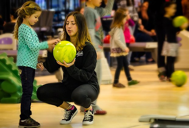 Rab's Country Lanes offers plenty of kid-friendly attractions in addition to bowling