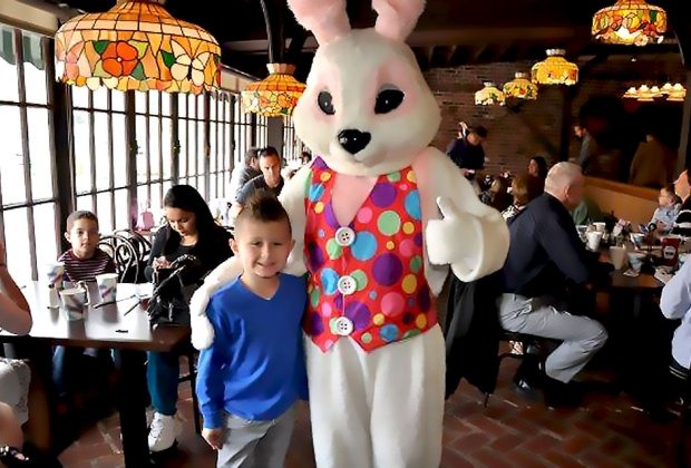 Have breakfast with the Bunny at Fred & Ethel's. Photo courtesy of the restaurant