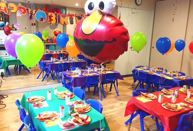 Choose From A Variety Of Birthday Party Themes At Recess DUMBO Photo Courtesy