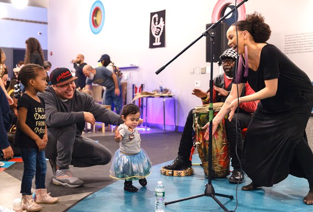 Journey through your imagination, dive into the past, and learn about black visionaries at the Brooklyn Children's Museum Black Future Festival. Photo courtesy of BCM