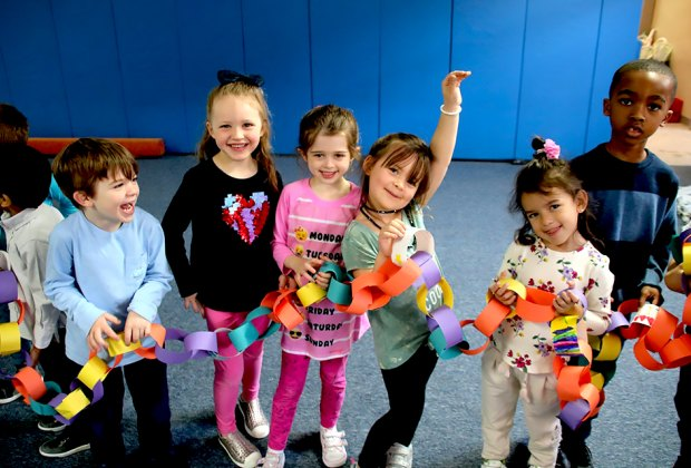 Kids engage in a variety of fun and educational activities at Buckley Country Day School.