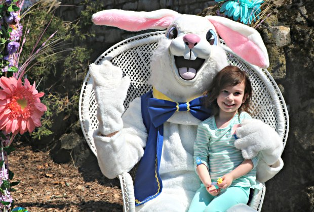 Hop on over to the Bunny Bonanzoo to meet and greet the Easter Bunny. Photo courtesy of Stone Zoo